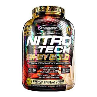 Nitro Tech Whey Isolate Gold 2.5kg - Muscletech