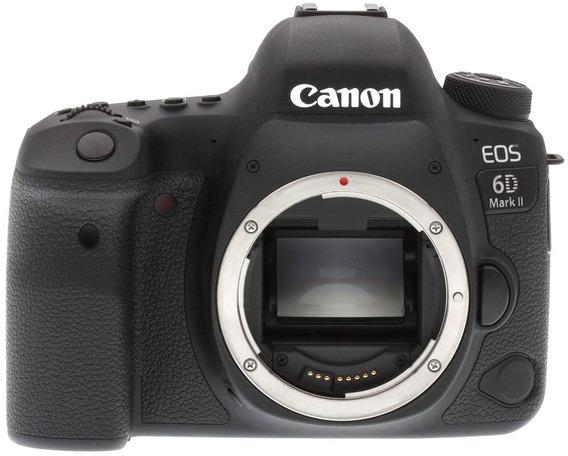 Canon 6d Mark Ii Camera Corpo Envio Ja Garantia Barato