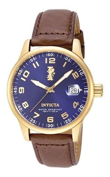 Invicta 15255 I-force Aço Inox Banh.ouro 18k Original