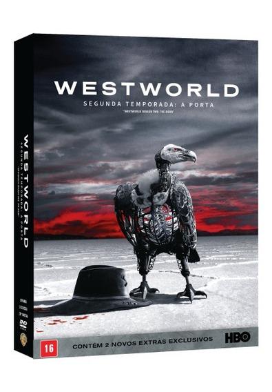 Dvd Westworld - 2ª Temporada - A Porta - 3 Discos Original