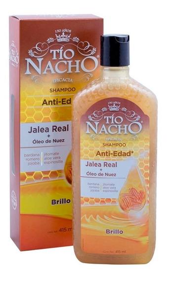 Shampoo Tío Nacho Jalea Real/nuez 415 Ml Genomma Lab