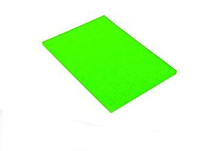 Cartulina Fluo X 10 U. Verde, Amarilla, Naranja, Fucia, Roja