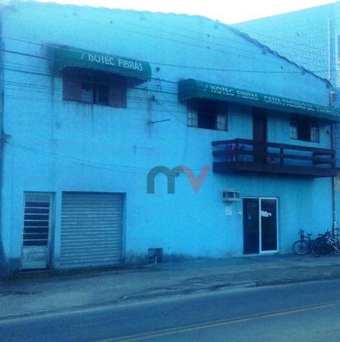 Galpão, 290 M² - Venda Por R$ 600.000,00 Ou Aluguel Por R$ 5.000,00/mês - Balneário Pires - Praia Grande/sp - Ga0014