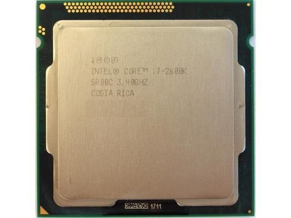 Processador Intel I7-2600k 3.4 Ghz + Cooler Gamer Heatpipe + Nfe