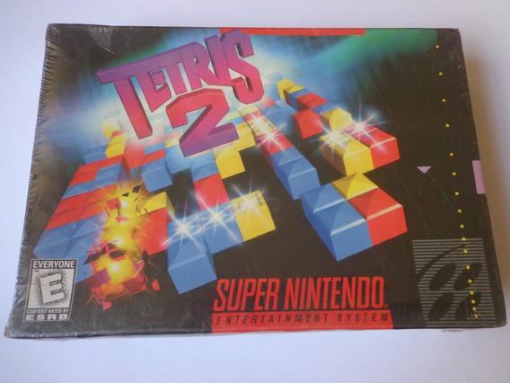Snes - Tetris 2 Original Lacrado Americano Super Nintendo