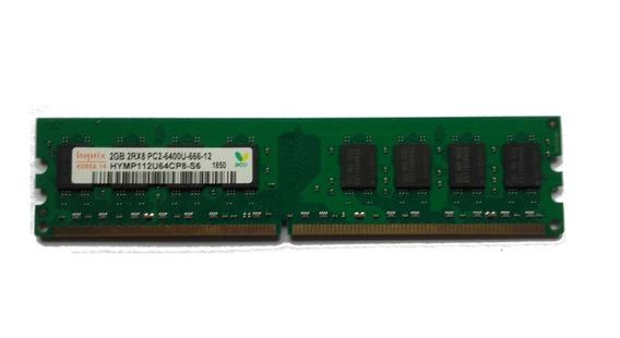 Memorias Hynix Pc Ddr2 2 Gb 800 Mhz Nuevas Fac A B Intel Amd