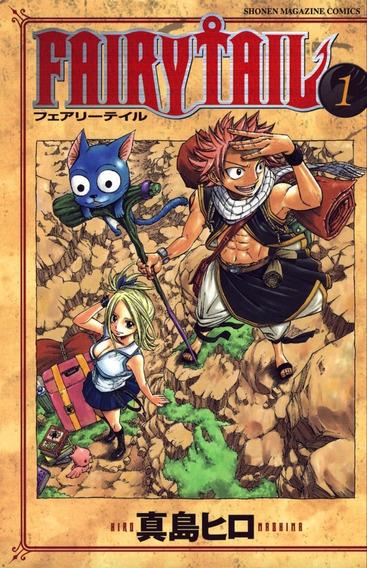Mangá Fairy Tail Todos Os Volumes Consulte O Número