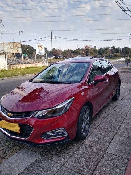 Chevrolet Cruze Ltz +at 2017 Estacionamiento Automatico Ful