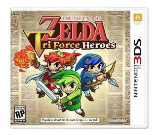 The Legend Of Zelda: Triforce Heroes 3ds - Prophone