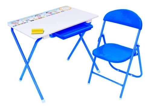Escritorio Mesa Estudio Kinder Niñas 71672 Tablero Acrílico