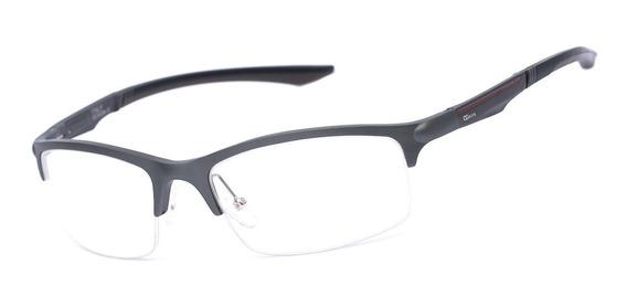 Armação Oculos Ogrife Og 323-c Masculino Com Lente Sem Grau