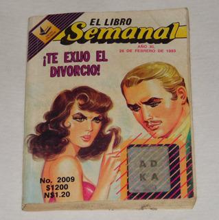 El Libro Semanal, Te Exijo El Divorcio.