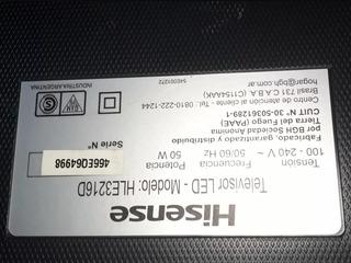 Patas Tv Hisense 32 Hle3216d