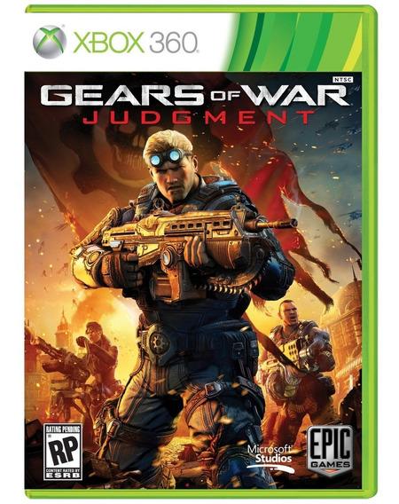 Gears Of War Judgment Xbox 360 Mídia Física Usado