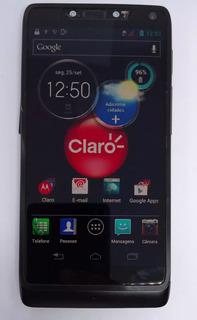 Motorola Razr I Xt890 Preto Com Avaria Sem Garantia