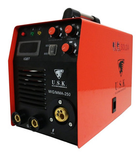 Maquina De Solda Multiprocesso Mig Eletrodo 250 220v Usk