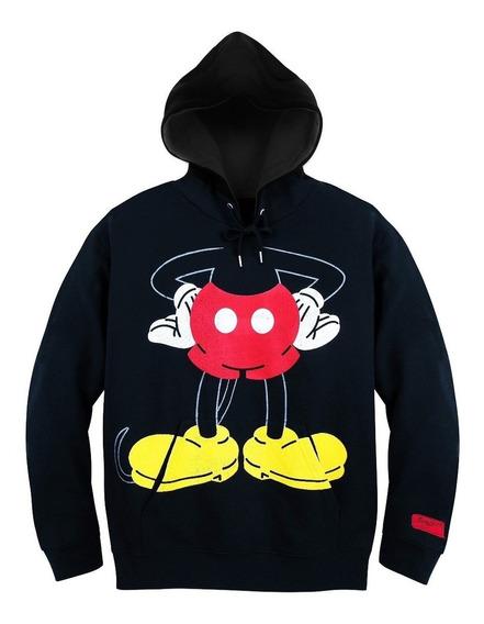 Sudadera Hoodie Mickey Mouse Cuerpo Todas Las Tallas Disney