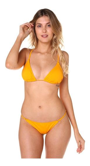 Bikini Billabong Sunny Slide Less Amarillo Mujer 12107519