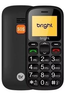 Celular Senior Bright 0485 Com Sos Teclas Grandes Para Idos