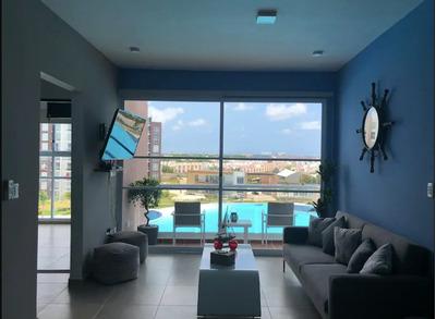 Departamento En Renta En Desarrollo Dreams Lagoon Cancún