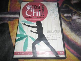 Dvd Tai Chi Chuan Aula Prática Priscila Rosa