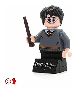 Minifigura De Harry Potter Harry Potter Con Varita Y ...