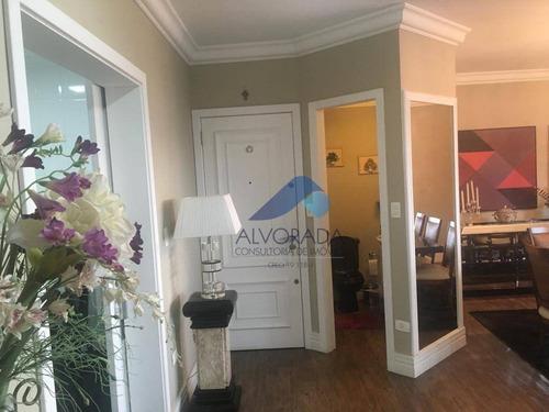 Apartamento Com 3 Dormitórios Para Alugar, 153 M²  -  Jardim Aquarius - São José Dos Campos/sp - Ap7391