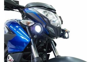 Moto Bajaj Pulsar Ns 200 Kit De Exploradoras Led Fire Parts