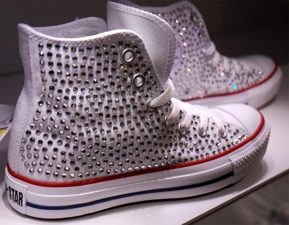 All Star Converse Cristalizado Em Strass