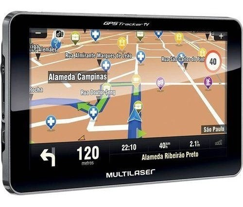 Navegador Gps 7 Tv Digital Usb 2.0 Multilaser Gp038
