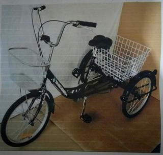 Bicicleta Triciclo De Carga Para Adultos