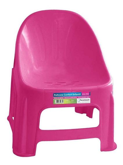 Poltrona Confort Infantil Rosa Pink Paramount