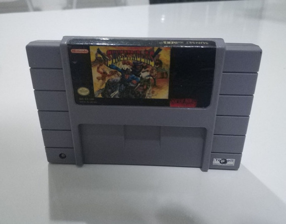 Sunset Riders Original Super Nintendo