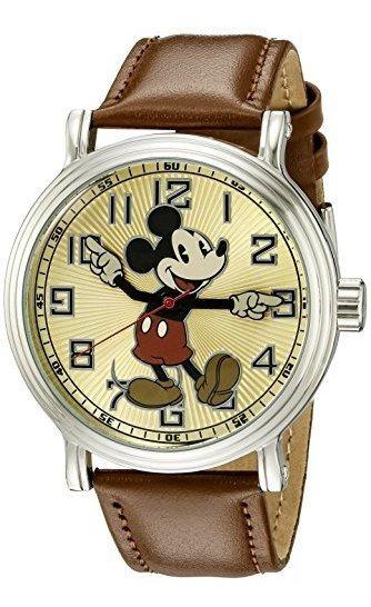 Reloj Analogico De Cuarzo Analogico De Mickey W002419 Mickey