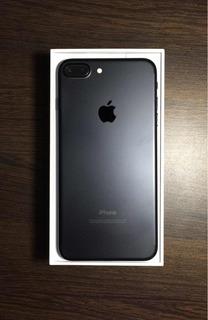 iPhone 7 Plus 128g Negro Matte (con Caja/factura/accesorios)