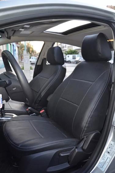 Fundas Cubre Asientos En Cuerina Premium Toyota Yaris -carfun-