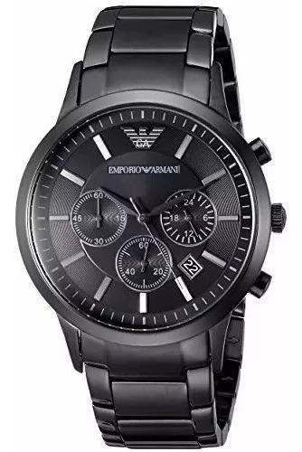 Relógio Pk098 Emporio Armani Ar2453 Preto Original
