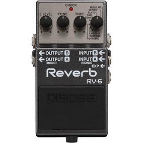 Pedal Digital Reverb Boss Rv6 Para Guitarra - Original I Nf