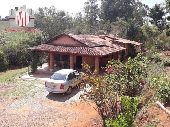 Chácara Com 03 Dormitórios, Pomar, Ótima Localização À Venda, 5000 M² Por R$ 300.000 - Tuiuti/sp - Ch0538
