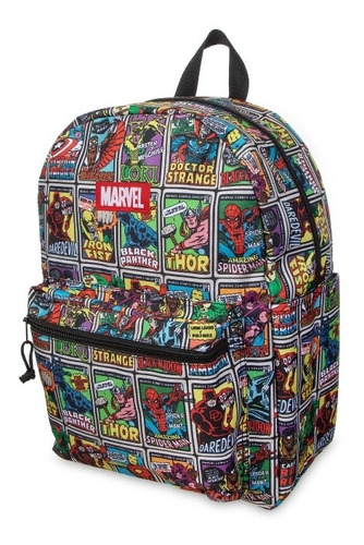 Morral Bolso Maleta Marvel The Avengers Superheroes-niñojove