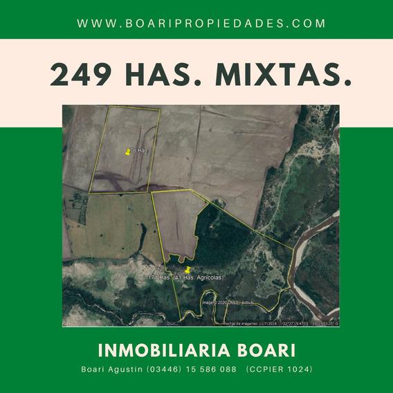 Vendo Campo 249 Has. Mixtas - Rosario Del Tala