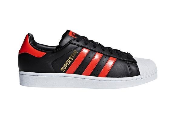 Zapatillas adidas Superstar Neg/roj De Hombre