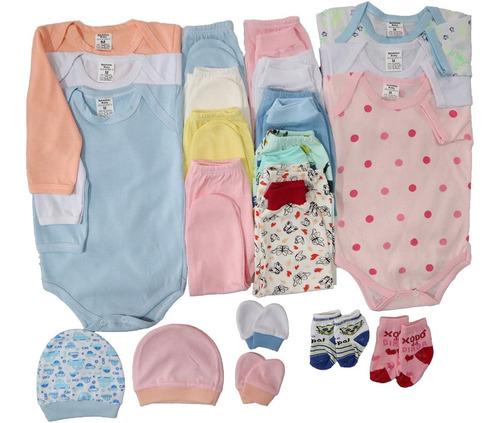 Kit 21 Pçs Maternidade Roupa De Bebê Frete Gratis