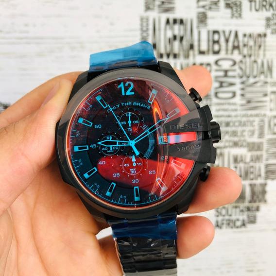 Relógio Diesel Original Masculino Vidro Camaleão Dz4318/1pn