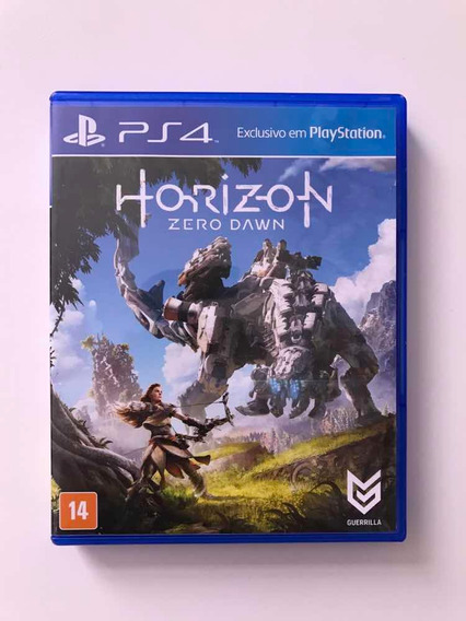 Horizon Zero Dawn Ps4 Mídia Física Original Playstation 4