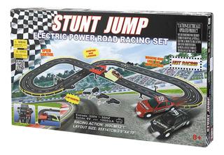Pista De Autos Golden Bright Stunt Jump