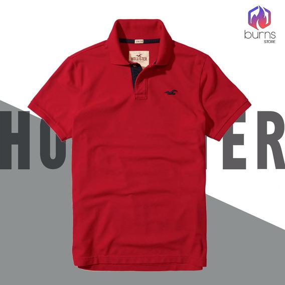 Camisa Polo Hollister Original Camisas Gola Polo Originais