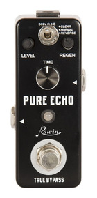 Mini Pedal Guitarra Delay Rowin Pure Echo
