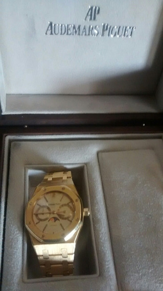 Reloj Audemars Piget Royal Oak Oro Am 18 Kt Fase Lunar Autom