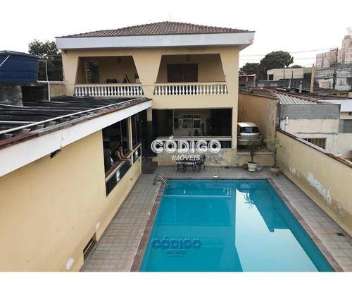 Imagem 1 de 30 de Sobrado Com 4 Dorms Sendo 2 Suites, 4 Vagas Piscina, Guarulhos/sp - So0320